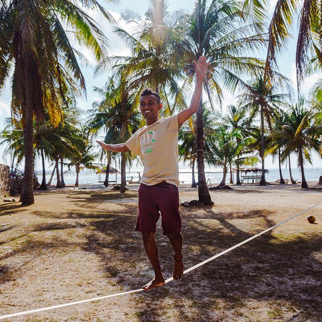 palmtree local people indonesia nemberala besialu rote island ocean surf dive