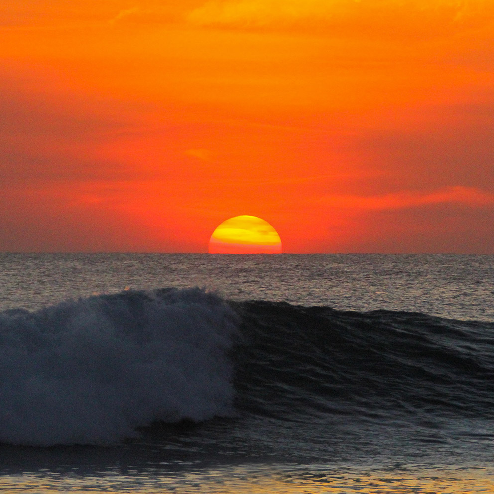 sunset waves nemberala beach t land sun ocean t land surfing nemberala rote island indonesia