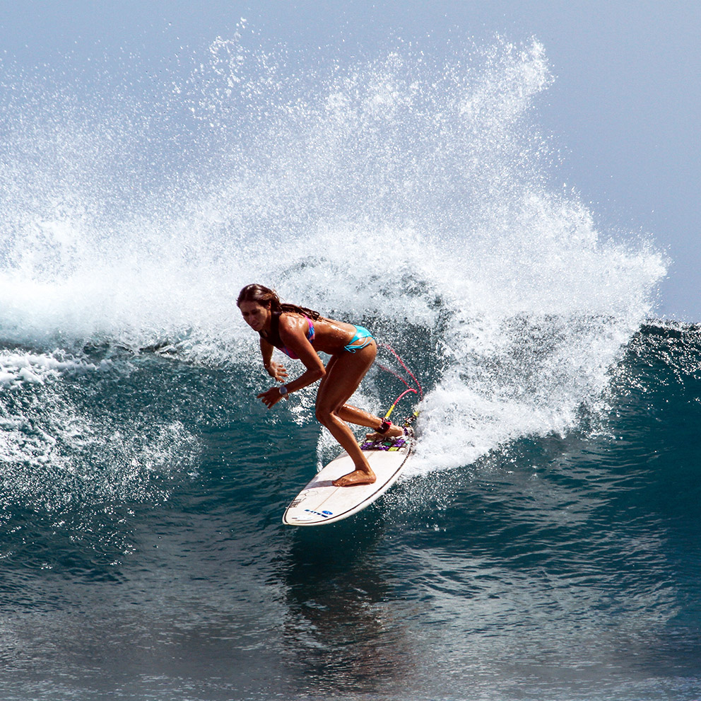 girlpower surfing beachgirl nemberala indonesia rote island t land