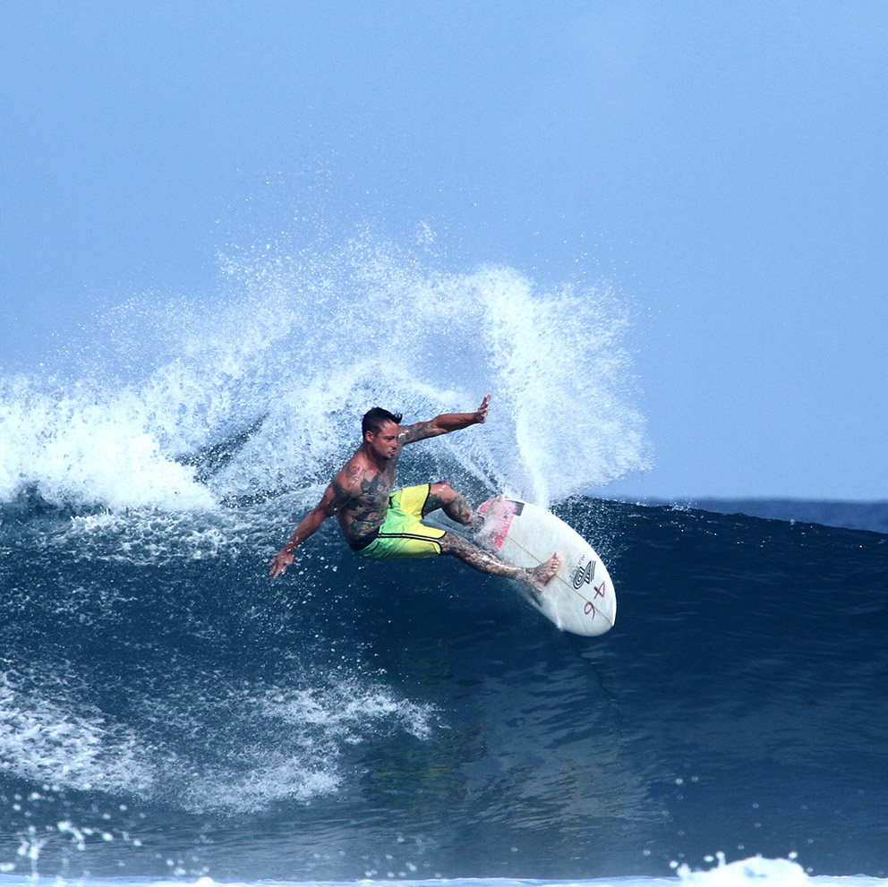surfing waves tattooboy indonesia besialu rote island nemberala