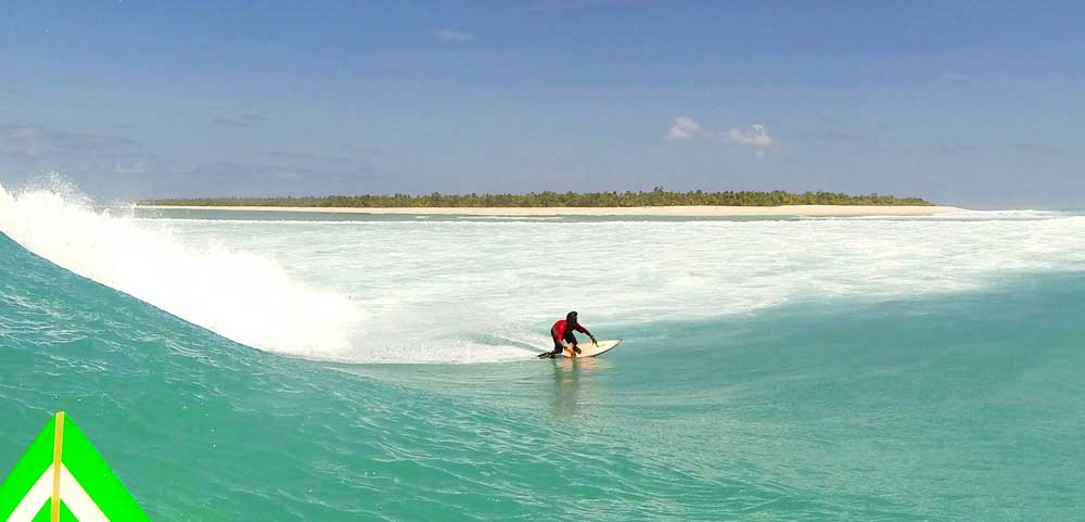 Surfing surf rote island Do'o indonesia surfboards