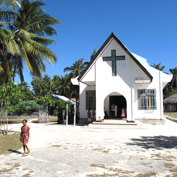 church nemberala rote island indonesia